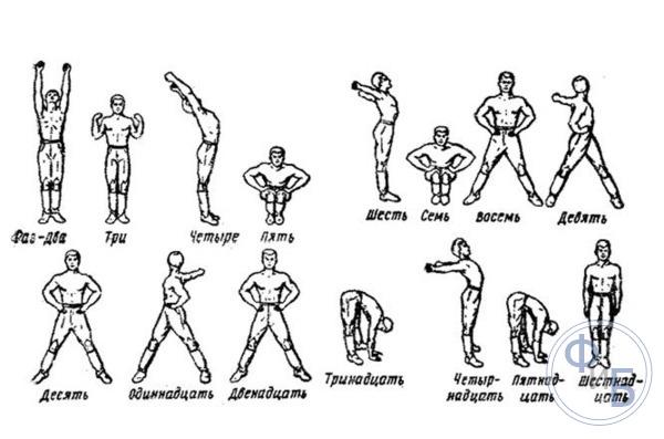 Рекомендованные упражнения