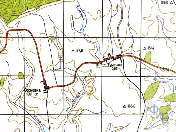 Отображение рельефа на топографических картах